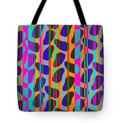 Stripe Beans Tote Bag by Louisa Knight