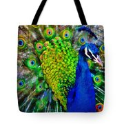 Strut Proudly Tote Bag by Angelina Vick