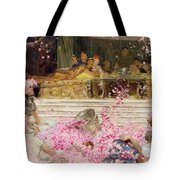 Study For The Roses Of Heliogabulus Tote Bag by Sir Lawrence Alma-Tadema