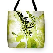 Study In Green Tote Bag by Judi Bagwell