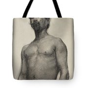 Study Of A Negro Man Tote Bag by Henry Ossawa Tanner