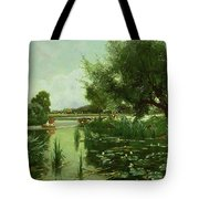 Summer - One Of A Set Of The Four Seasons Tote Bag by Arthur Walker Redgate