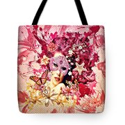 Summer Tote Bag by Mo T