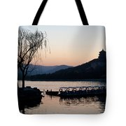Summer Palace Evening Tote Bag by Mike Reid
