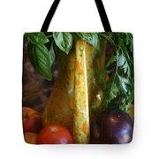 Summer's Bounty Tote Bag by Kay Novy