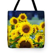 Sunflowers Tote Bag by Paul Ward