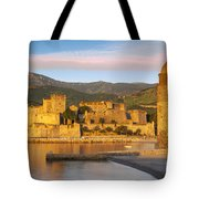 Sunrise In Collioure Tote Bag by Brian Jannsen