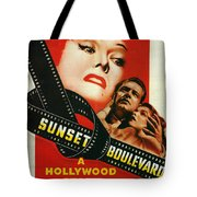 Sunset Boulevard Tote Bag by Georgia Fowler