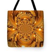Sunset Kaleidoscope 4 Tote Bag by Marty Koch