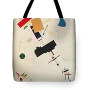 Suprematist Composition No 56 Tote Bag by Kazimir Severinovich Malevich