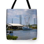Surf City View Tote Bag by Betsy C  Knapp