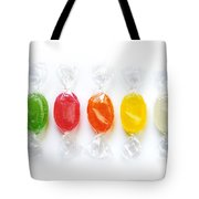 Sweet Candies Tote Bag by Carlos Caetano