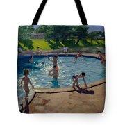 Swimming Pool Tote Bag by Andrew Macara