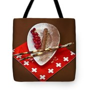 Swiss Chocolate Praline Tote Bag by Joana Kruse