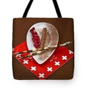 Swiss Chocolate Praline Tote Bag by Joana Kruse
