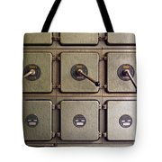 switch panel Tote Bag by Carlos Caetano