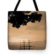 Tall Ship Gorch Fock Tote Bag by Gaspar Avila