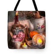 Tea Party - I Would Love To Have Some Tea  Tote Bag by Mike Savad