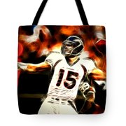 Tebow Tote Bag by Paul Van Scott
