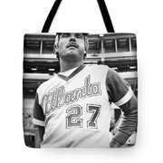 Ted Turner (1938- ) Tote Bag by Granger