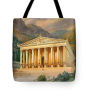 Temple Of Diana Tote Bag by English School