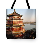 Temple Of The Fragrant Buddha Tote Bag by Mike Reid