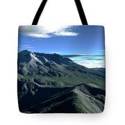 Terragen Render Of Mt. St. Helens Tote Bag by Rhys Taylor