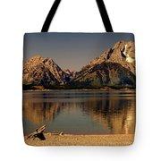 Teton Panoramic Tote Bag by Marty Koch