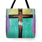 Thank God For Good Friday Nineteen Ninety Nine Tote Bag by Carl Deaville