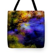 That Mountain Light Tote Bag by Judi Bagwell