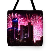 The 54th Annual Target Fireworks In Detroit Michigan Tote Bag by Gordon Dean II