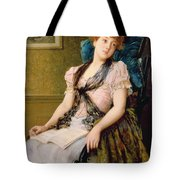 The Afternoon Rest Tote Bag by John Morgan