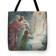 The Appearance Of The Angel Tote Bag by Ambrose Dudley