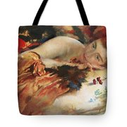 The Artist's Mistress Tote Bag by Charles Sims