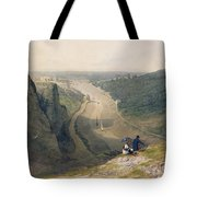 The Avon Gorge - Looking Over Clifton Tote Bag by Francis Danby