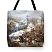 The Battle Of Pea Ridge, Tote Bag by Granger