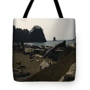 The Beach At Twilight Tote Bag by Kym Backland