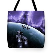The Blockade Runner Treacherous Tote Bag by Brian Christensen