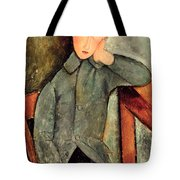 The Boy Tote Bag by Amedeo Modigliani