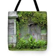 The Canna Farm Tote Bag by Anne Kitzman