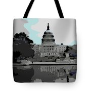 the Capitol Tote Bag by George Pedro