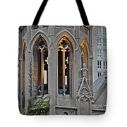 The Church Tower Tote Bag by Mary Machare