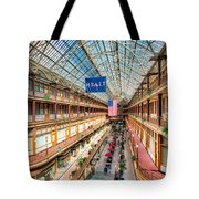 The Cleveland Arcade I Tote Bag by Clarence Holmes