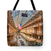 The Cleveland Arcade Iv Tote Bag by Clarence Holmes