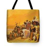The Crusades Tote Bag by Gerry Embleton