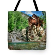 The Crystal Mill 1 Tote Bag by Ken Smith