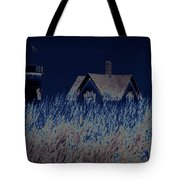 The Darkness Before The Dawn Tote Bag by Luke Moore