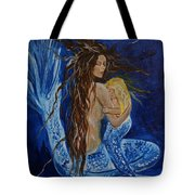 The Deepest Love Tote Bag by Leslie Allen