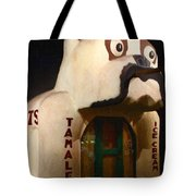 The Dog Cafe - Painterly - 7d17426 Tote Bag by Wingsdomain Art and Photography