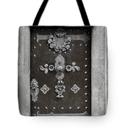 The Door - Ceske Budejovice Tote Bag by Christine Till